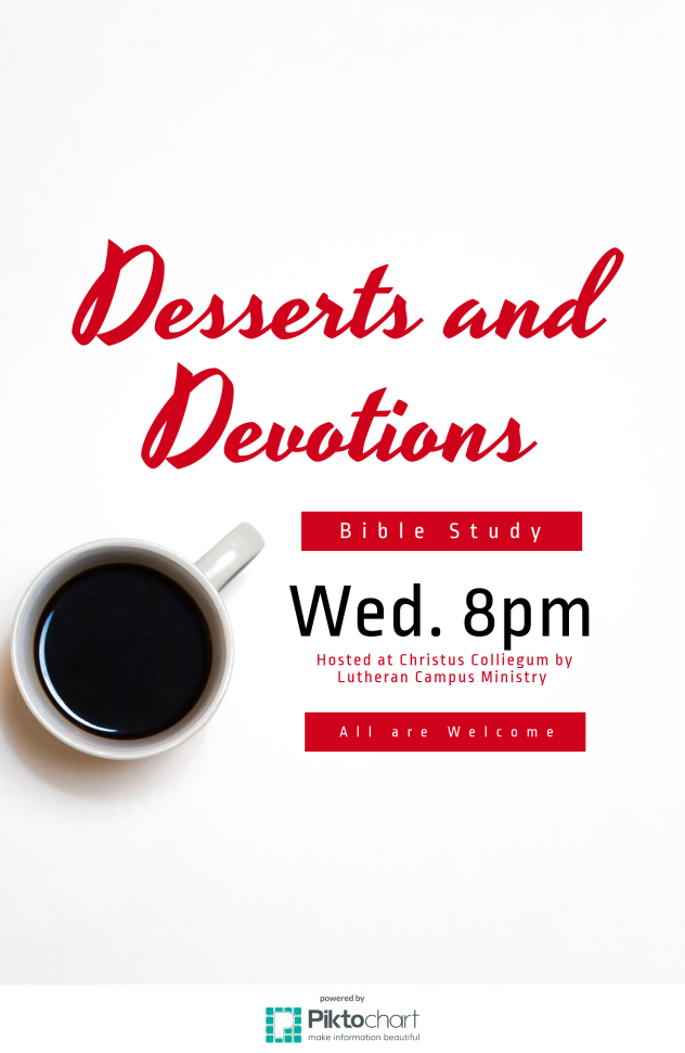 Desserts and Devotions